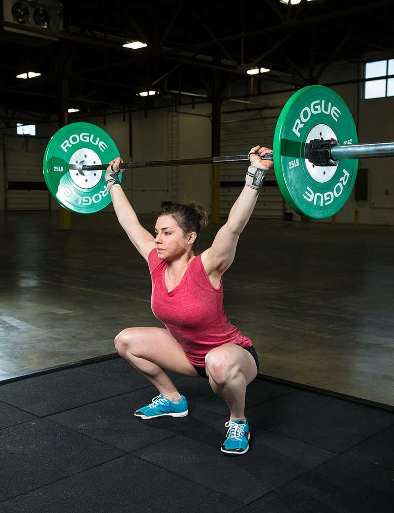 CrossFit Overhead squat movement