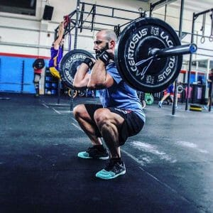 crossfit thruster exercise