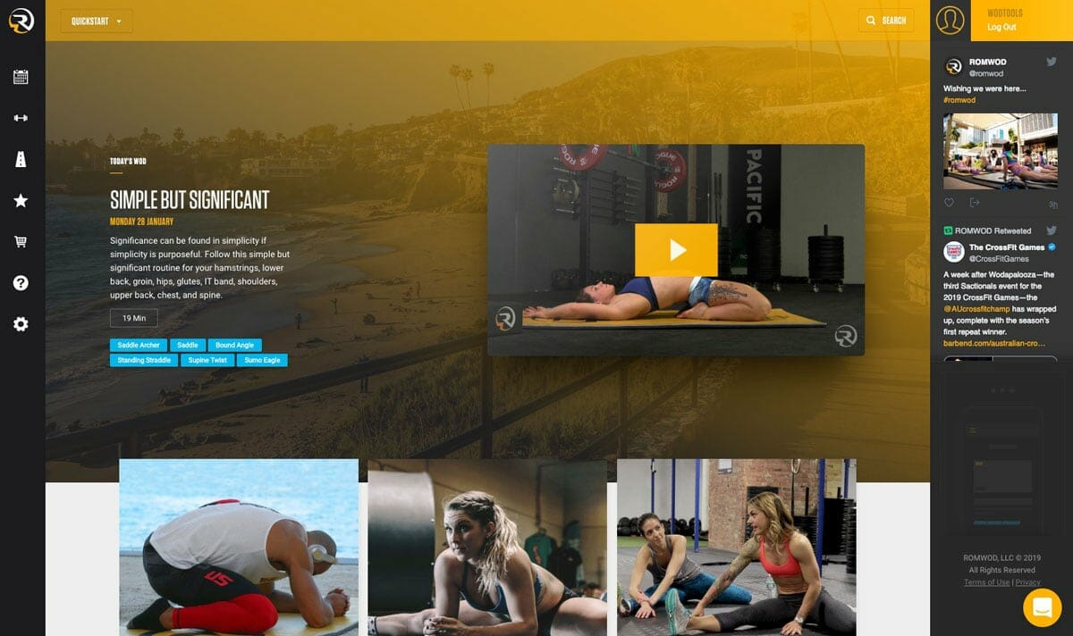 ROMWOD review