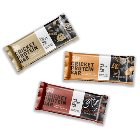 Cricket protein bars - Great gifts for CrossFit foodies