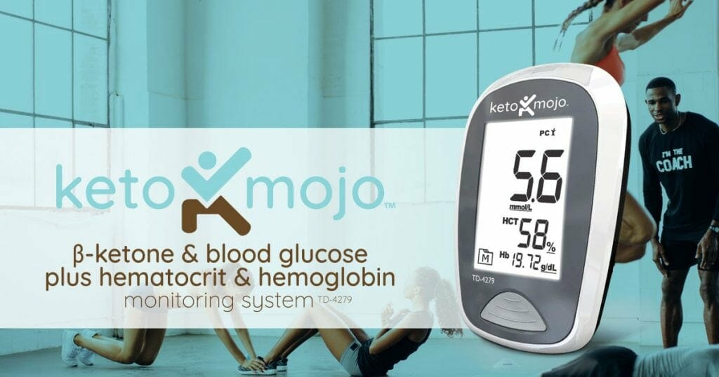 Keto-Mojo Blood ketone monitoring kit