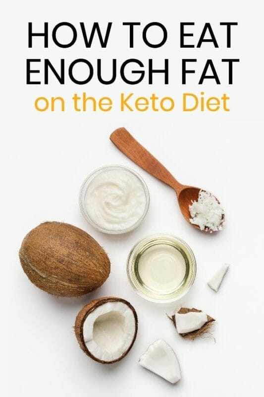 how to get enough fats on the keto diet