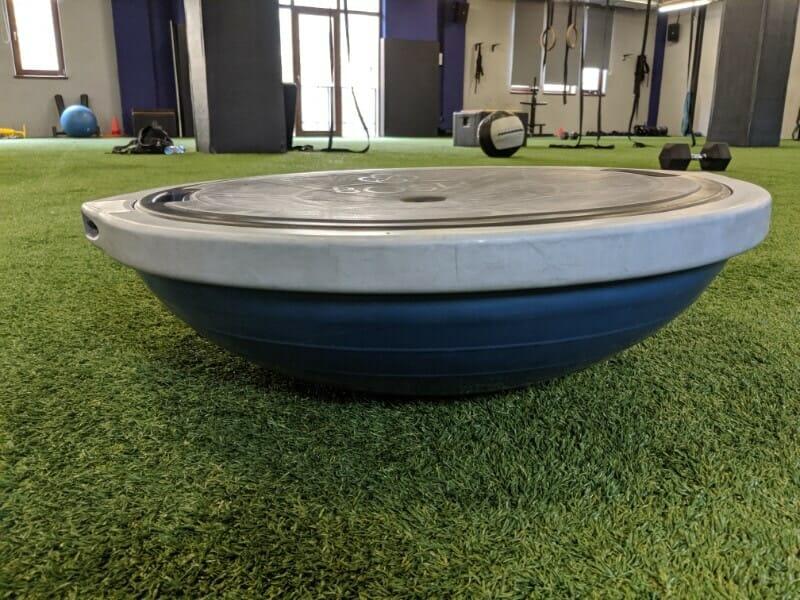 Balance board or wobble in CrossFit Gym