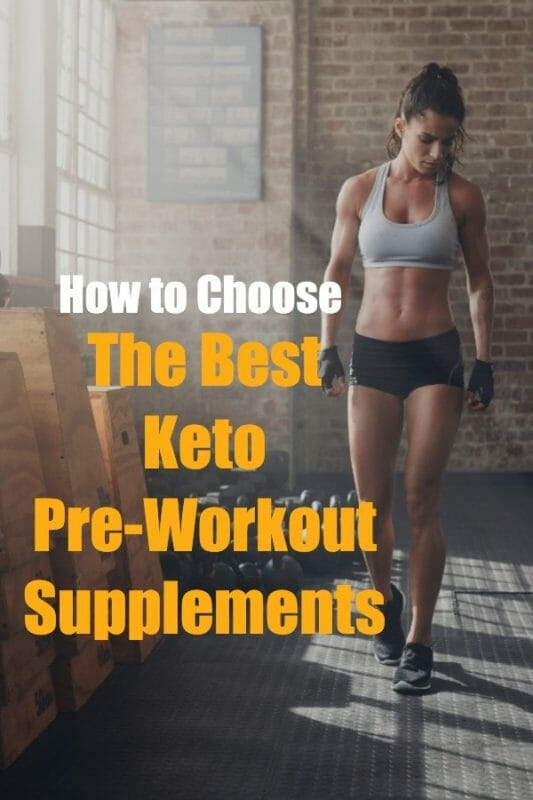 The Best Keto Pre-Workout Supplements