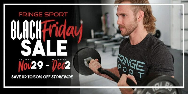 fringe sport black friday special offer