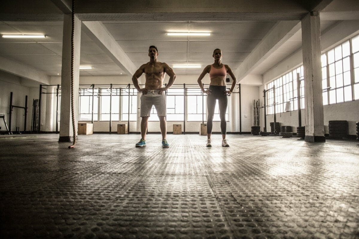 The top CrossFit Workouts with Bodyweight and barbells