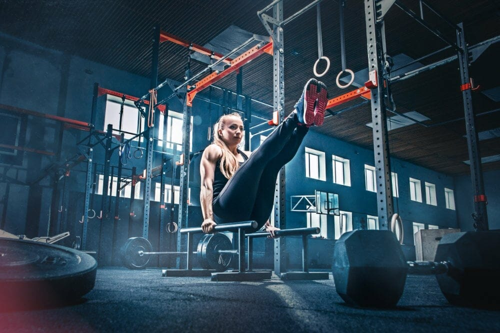 calisthenics bar hold workout