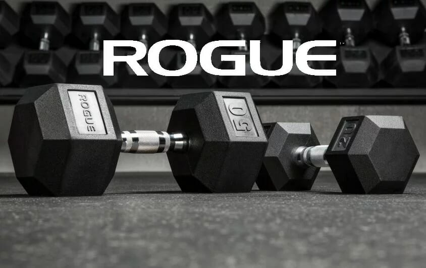 Rogue Hex Dumbbells