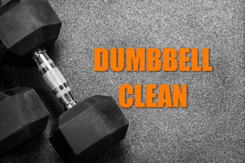 Single Dumbbell Clean Execise