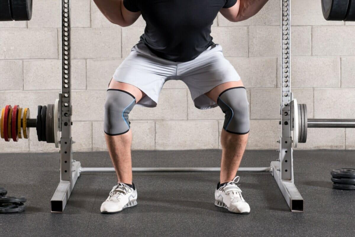 Knee Sleeves in use