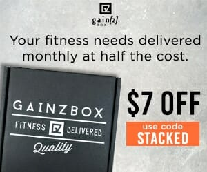 Gainz Box Crossfit Subscription Service