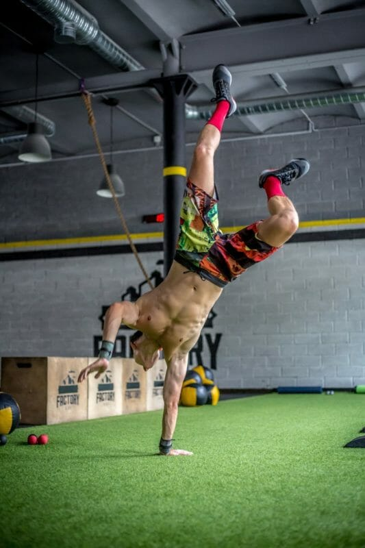 Handstands Muscle Strength Training Crossfit Box