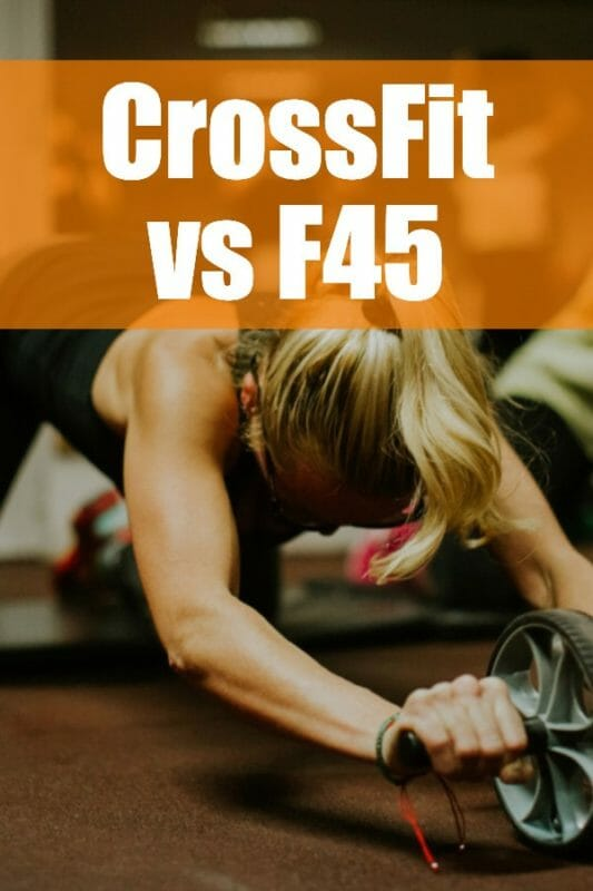 Crossfit vs f45: Differences and Similarities