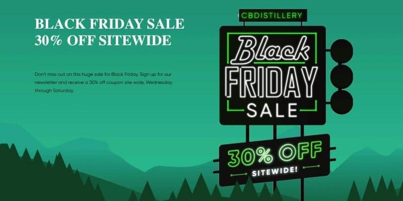 Cbd Distillery Black Friday Sale 1