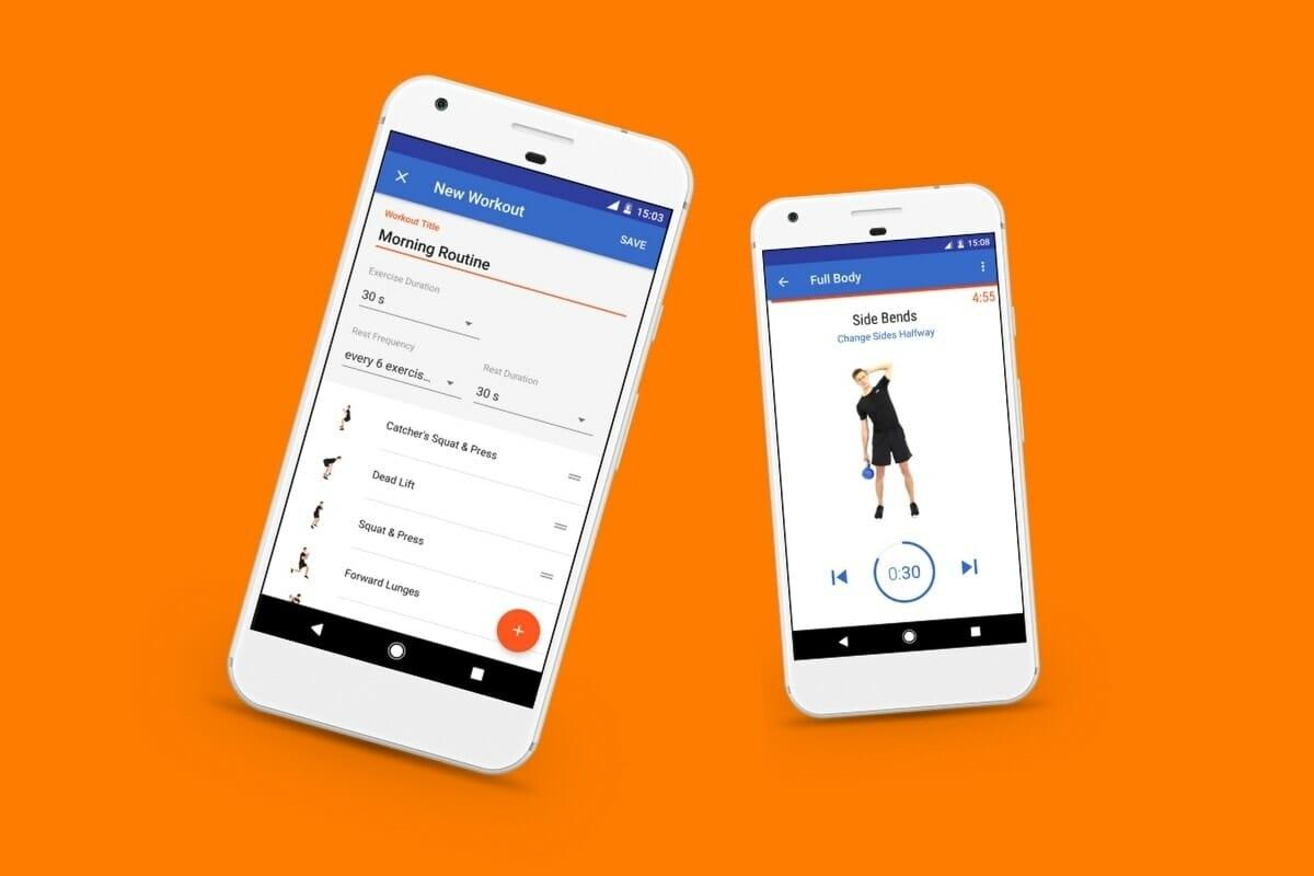 Fitify Workout App Screenshots