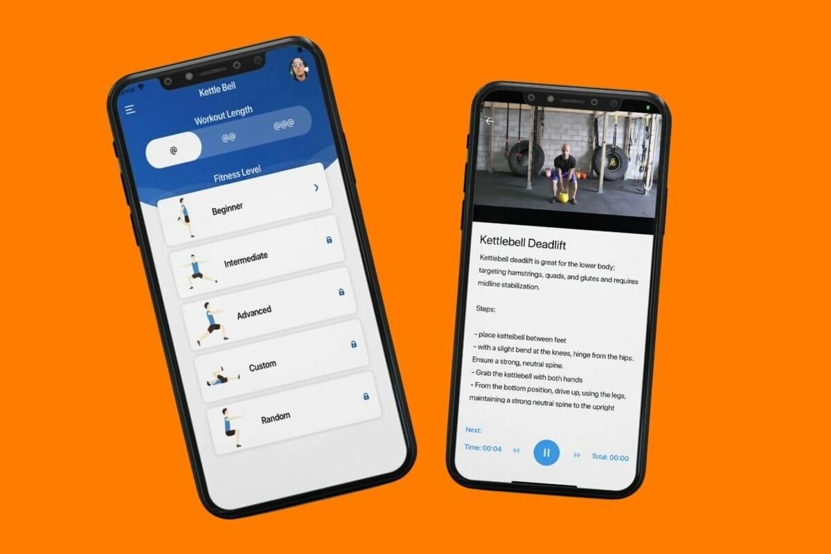 Kettlebell Workout Planner Screenshots