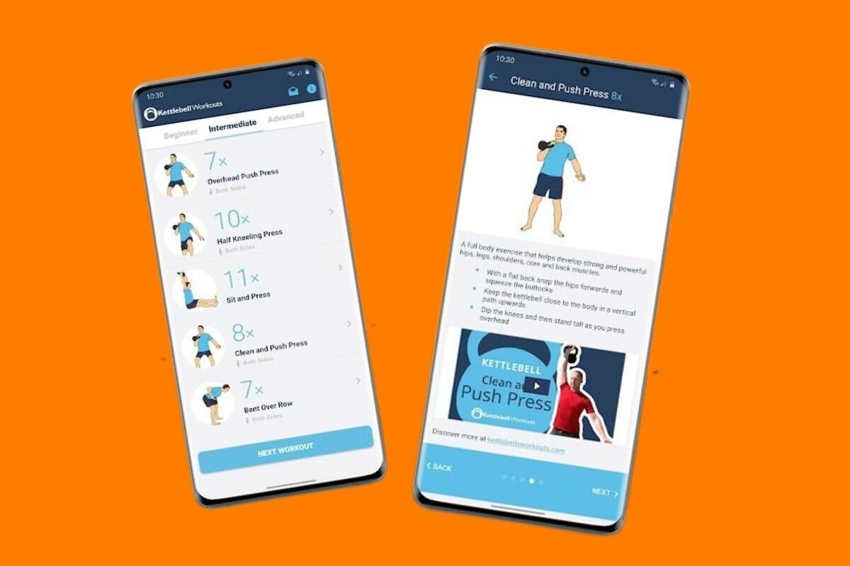 Kettlebell Workout Wizard Screenshots