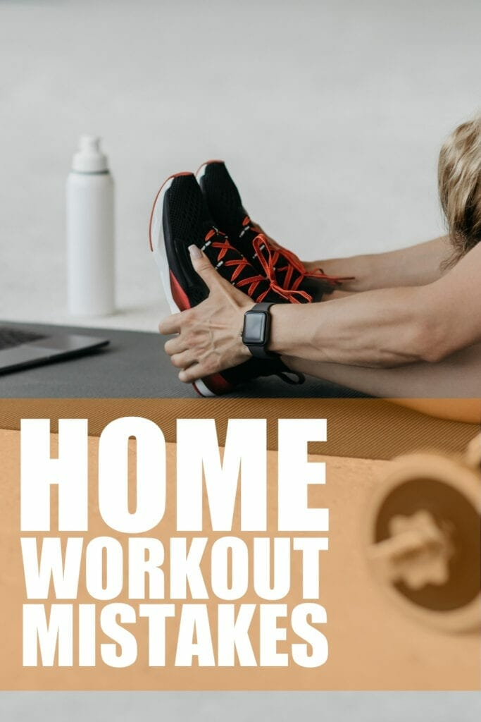 Common mistakes when working out at home