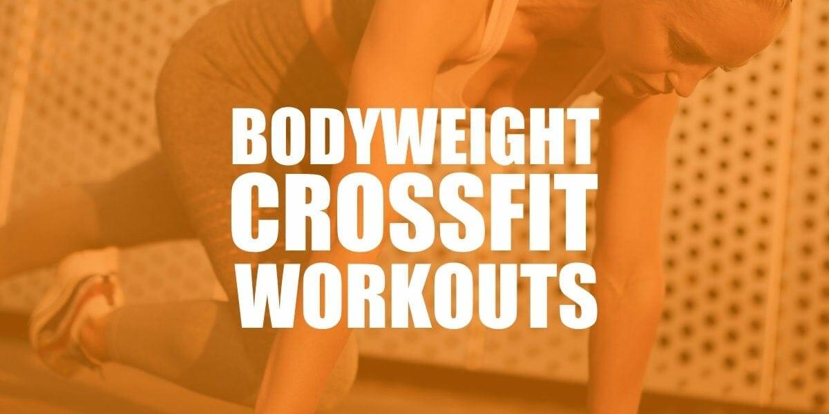 bodyweight WODs