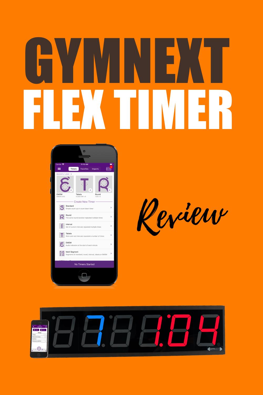gymnext flex timer review pinterest
