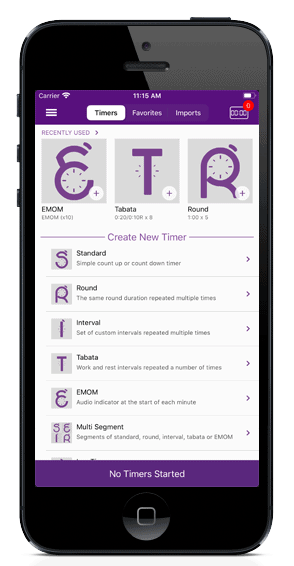 gymnext mobile timer app
